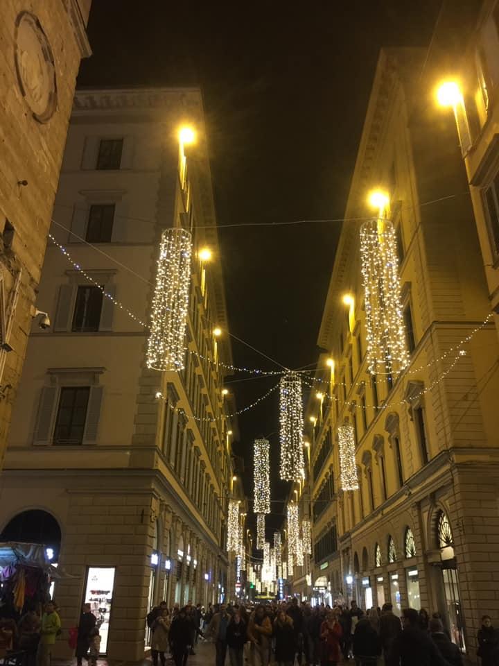 Navidad en Florencia.